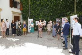 Inaugurada la exposición '40 años de lucha LGTBI' en el Palau del Consell