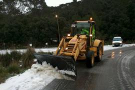 La nieve vuelve a la Serra