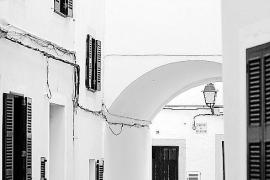 Carrer de s'Arc en el casco antiguo de Ciutadella