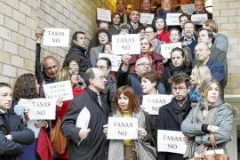 LA JUSTICIA PROTESTA EN BLOQUE CONTRA LA REFORMA DEL MINISTRO ALBERTO RUIZ GALLARDON.