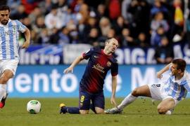 El Barcelona se cita con el Real Madrid en semifinales (2-4)