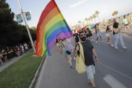 Más de 300 personas participan en Palma en un Día del Orgullo 'dividido'