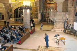 La Catedral de Mallorca acoge por primera vez un acto de promoción turística