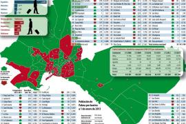 Palma gana 499 habitantes en 2012 tras perder población en 2010 y 2011