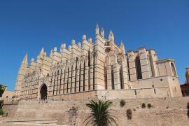 Vista general de la Catedral de Palma.