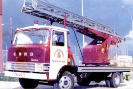 'Desaparece'  el primer camión escalera que compró el Ajuntament para los Bombers de Palma