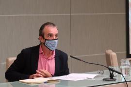 El vicepresidente del Govern Balear Juan Pedro Yllanes