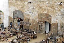 Ses Voltes se convierte en un gran poblado marinero medieval para un anuncio publicitario