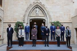 Foto de familia del Consell de Govern