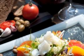 Restaurante Es Vi en castillo Hotel Son Vida