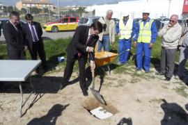 Antich pone la primera piedra del nuevo centro de salud del municipio