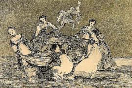 Aparecen en Catalunya estampas inéditas de los 'Disparates' de Goya