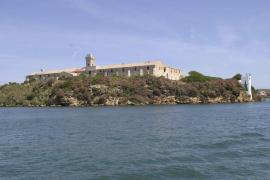 Illa del Rei en el Port de Maó o Isla del Rey en el Puerto de Mahón