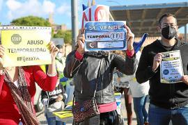 Los interinos de Baleares hablan: «El decreto es ilegal»
