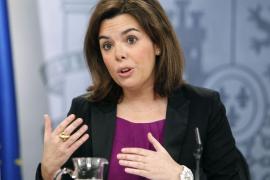 Sáenz de Santamaría: «Siempre he visto en Rajoy una conducta ejemplar»