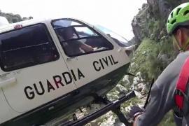 Rescate de excursionistas en Mallorca