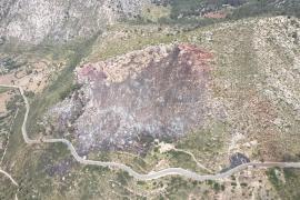 Extinguido el incendio forestal Coll de Sa Gramola de Andratx