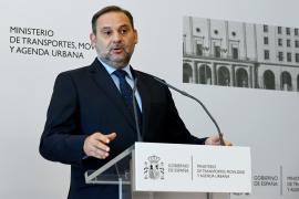 José Luis Ábalos entrega cartera a la nueva ministra de Transporte, Movilidad y Agenda Urbana