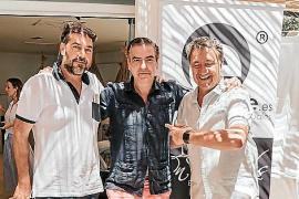 Jaime Verd, Koldo Royo y yo.