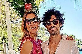 Tess Andreu con Paco Colombás.