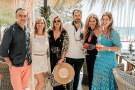 Marilena Estarellas, María Barceló, Jaime Verd, Blanca Rey e Isabel Alabern, conmigo.