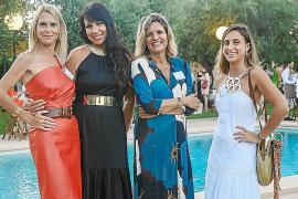Laura Peropadre, Antonia Suñer, Isabel Guarch y Claudia Castaño.