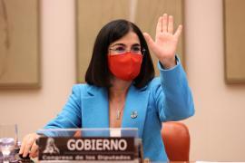La ministra de Sanidad, Carolina Darias, comparece en el Congreso