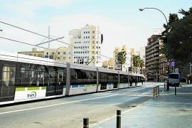 El Govern quiere usar parte del antiguo trazado del tren para el tranvía a s'Arenal