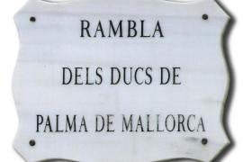 La Comisión de Toponimia de Cort refrenda el nuevo nombre de la Rambla