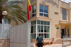 La Guardia Civil de Inca detuvo al marroquí, que estaba muy violento