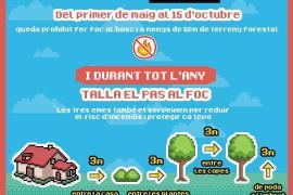 Prohibido hacer fuego al aire libre del 1 de mayo al 15 de octubre