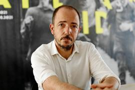 El director del Atlàntida Film Fest, Jaume Ripoll, en la sede de Filmin en Palma