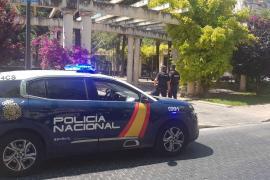 Detenido en Palma por agredir a un hombre con un palo