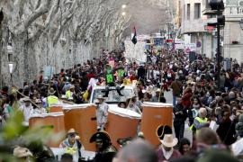 La Policía Local expulsó a una carroza de la Rueta de s'Arenal por un exceso de alcohol
