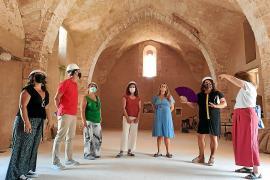 El Consell reafirma su compromiso con la rehabilitación del monasterio de Bellpuig de Artà