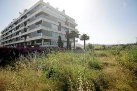 El terreno que ha ofrecido el Consell al Govern para construir VPO en la calle de s'Hort
