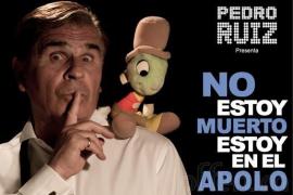 'No estoy muerto, estoy en el Auditórium', de Pedro Ruiz