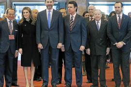 PRÍNCIPES DE ASTURIAS INAUGURAN FERIA INTERNACIONAL DE TURISMO