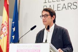 El portavoz del Govern Balear Iago Negueruela