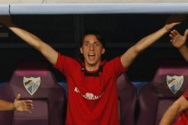 El brasileño Geromel es duda ante el Valencia al torcerse un tobillo