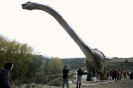 El propietario del antiguo 'paintball' de Sineu impulsa un parque temático de dinosaurios