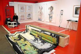 Los galeristas de la Isla apuestan en JustMad por obras vanguardistas de artistas jóvenes