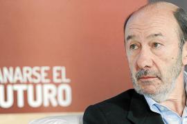 Rubalcaba propone al PSOE cambiar de nombre para incluir el término Europa