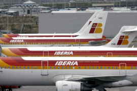 La huelga en Iberia arranca hoy  con más de 1.200 vuelos cancelados