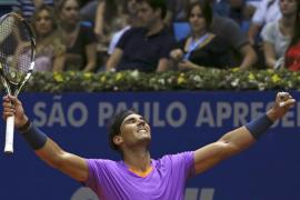 Nadal confía en que su victoria en Brasil será  «un buen comienzo»