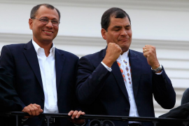 Rafael Correa logra la reelección en Ecuador