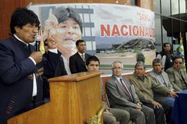Morales nacionaliza la empresa gestora de  los aeropuertos bolivianos, filial de Aena y Abertis