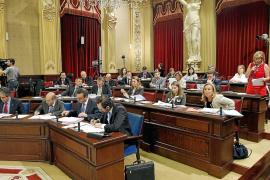 En nómina del Parlament