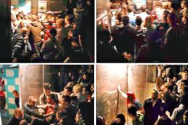 Un policía  herido durante la avalancha humana en una discoteca de Palma