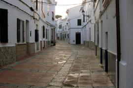 Calles del casco antiguo de Es Mercadal